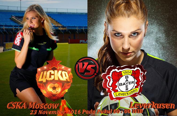 Prediksi Bola CSKA Moscow Vs Bayer Leverkusen