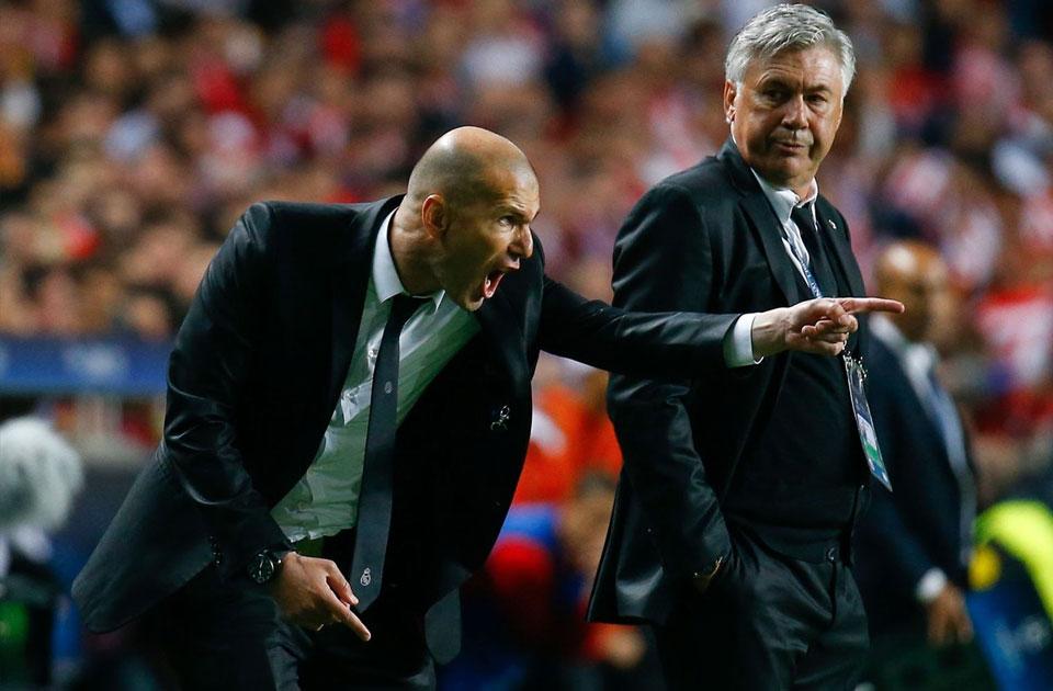 Zidane Samai Rekor Ancelotti Di Real Madrid