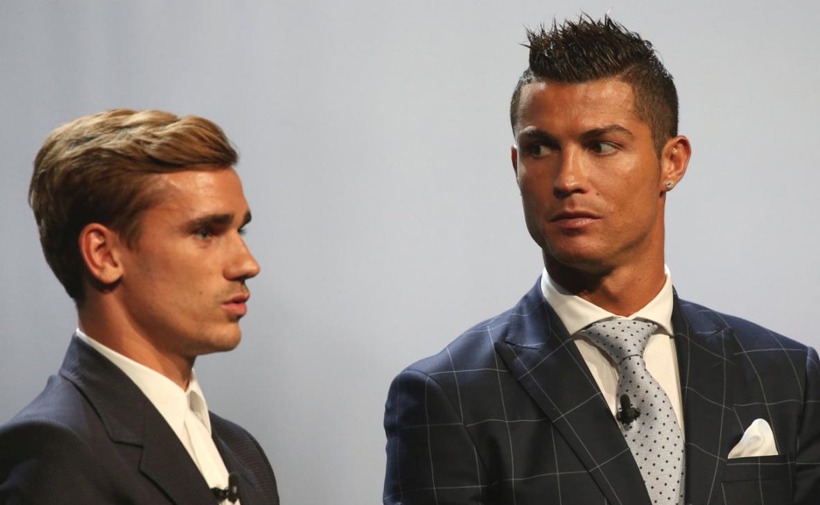 Griezmann Ungkap Benci Cristiano Ronaldo