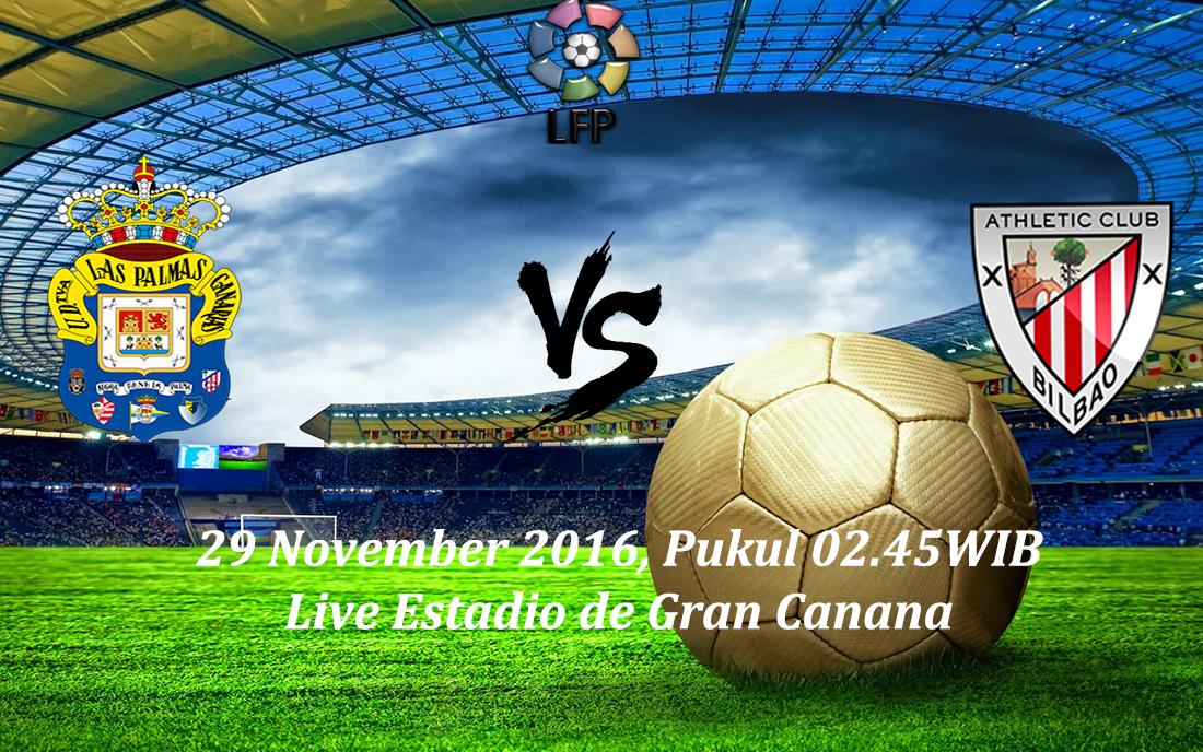 Prediksi Las Palmas vs Athletic Bilbao 29 November 2016