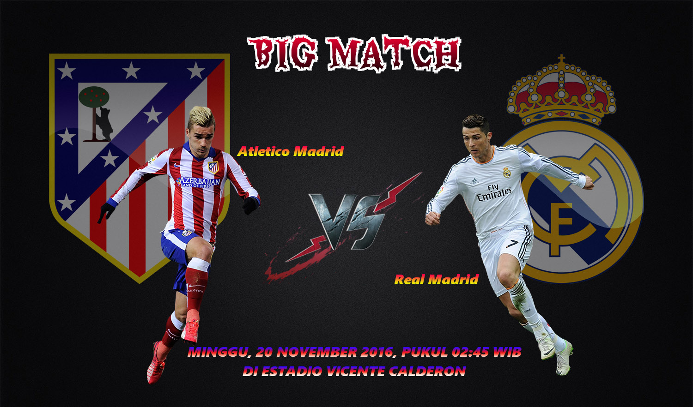 Atletico Madrid Vs Real Madrid 20 November