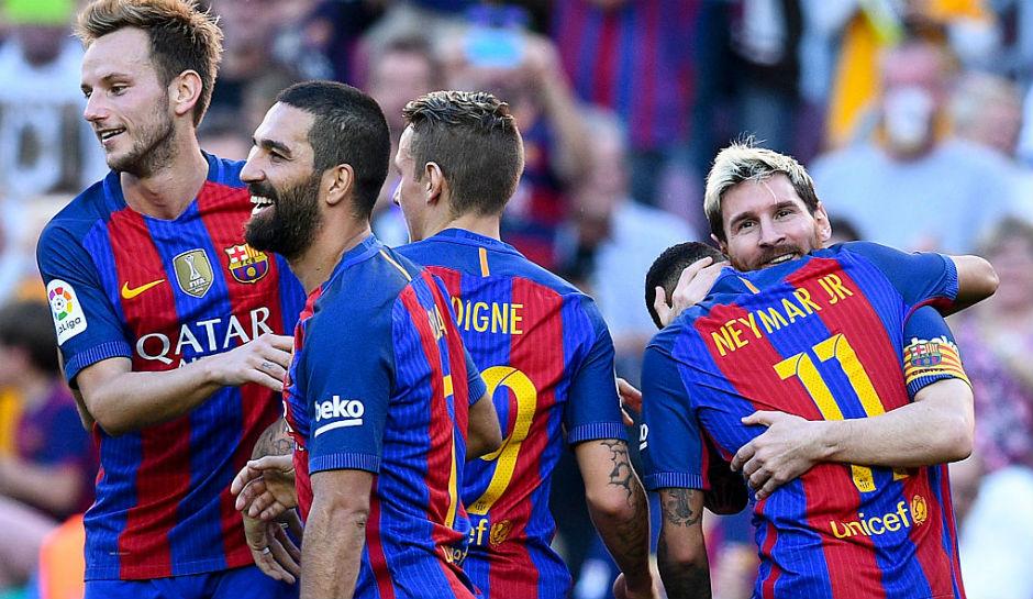 Laga Sengit Real Sociedad vs Barcelona