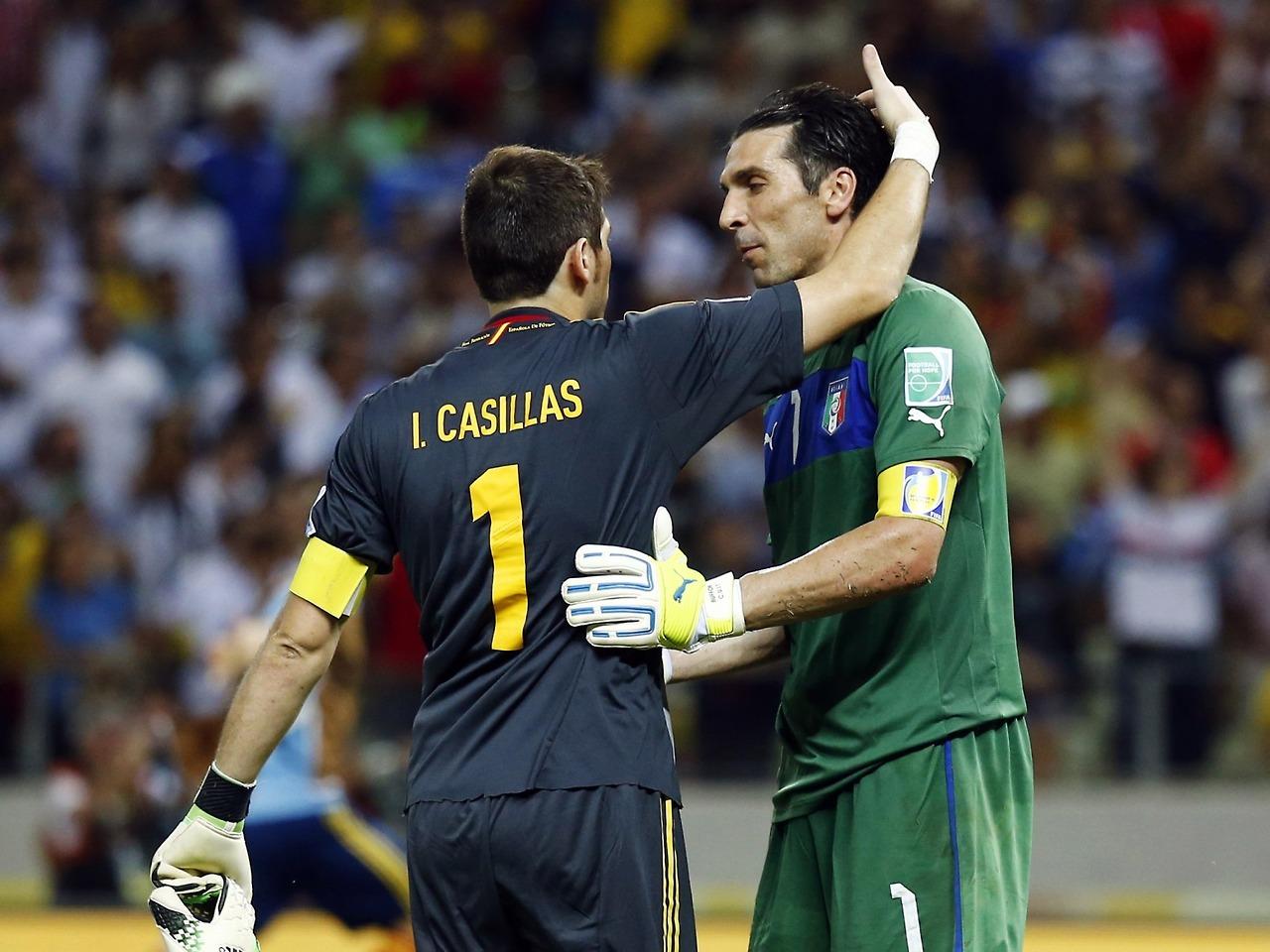 Buffon Samai Rekor Casillas di Eropa