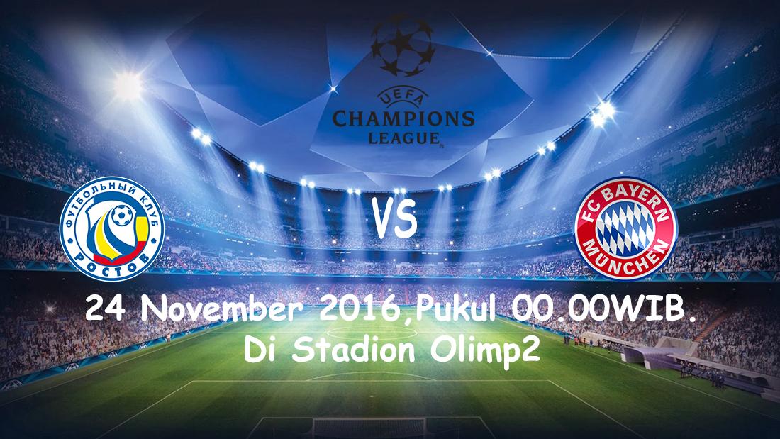 Prediksi Rostov vs Bayern Munchen