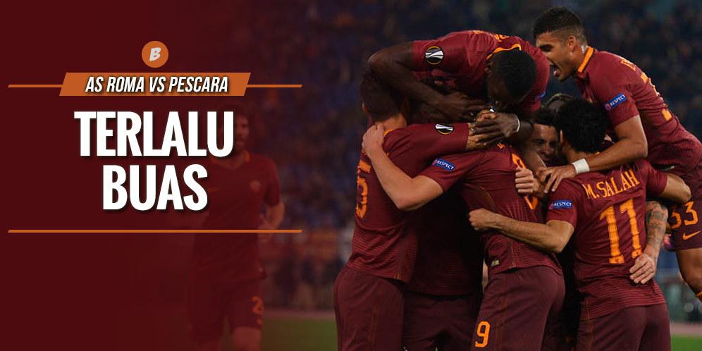 Prediksi AS Roma vs Pescara