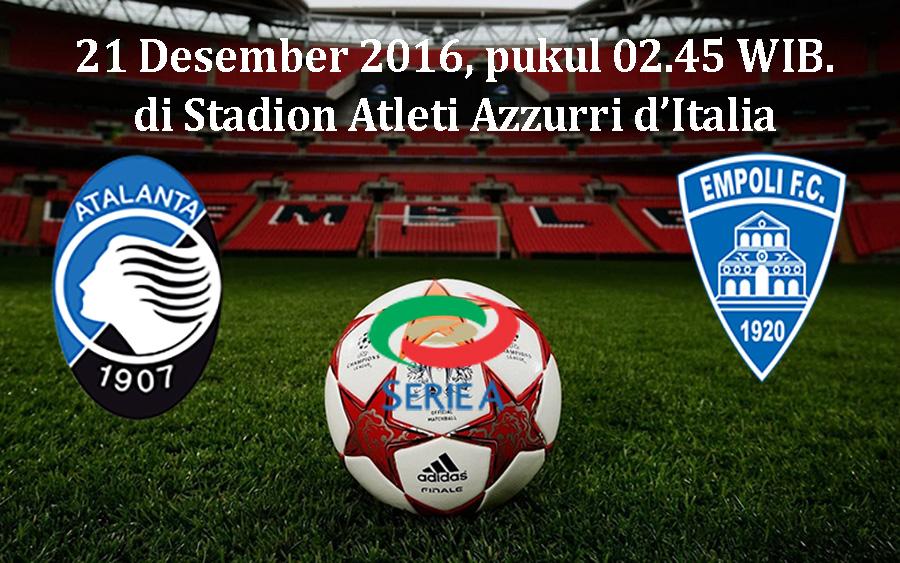 Prediksi Atalanta vs Empoli 21 Desember 2016