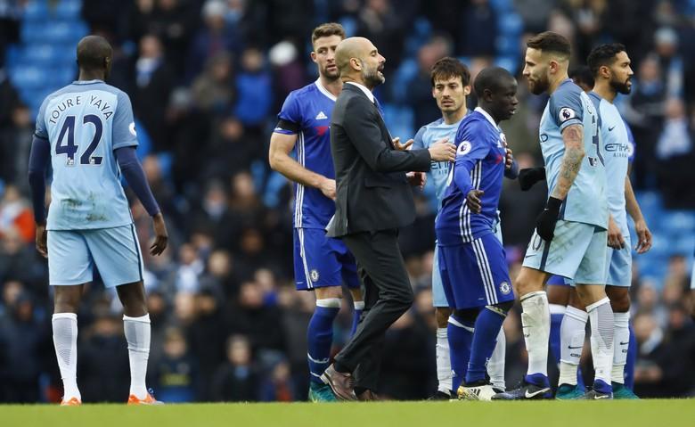 Guardiola Tidak Menyalahkan Wasit Laga City vs Chelsea