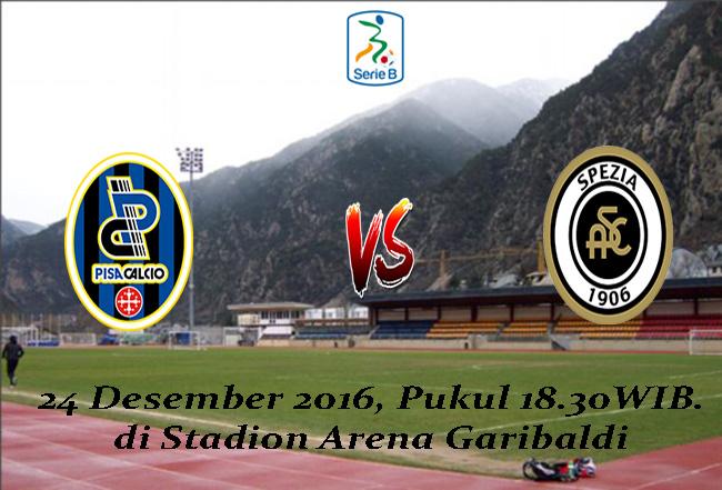 Prediksi Pisa vs Spezia 24 Desember 2016