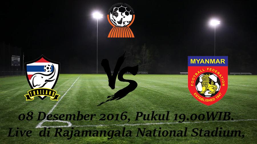 Prediksi Thailand vs Myanmar 08 Desember 2016