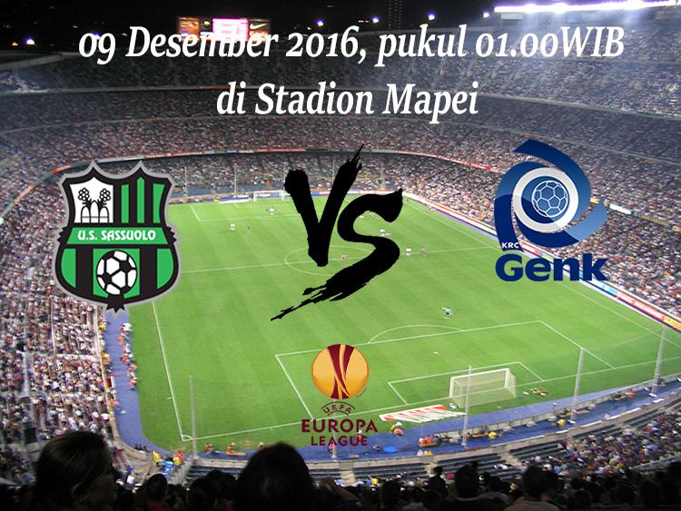 Prediksi Sassuolo vs Racing Genk 09 Desember 2016