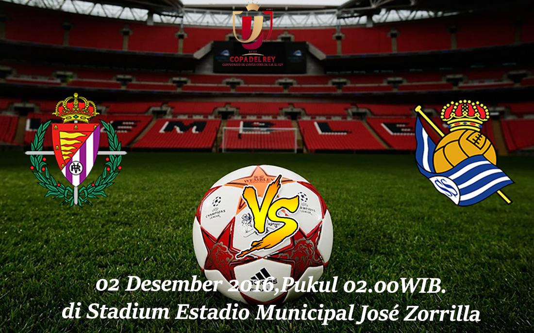 Prediksi Real Valladolid vs Real Sociedad 02 Desember 2016