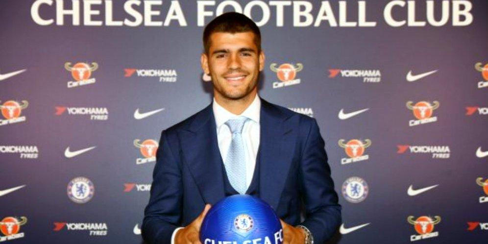 Morata: Pakai Nomor 9 di Chelsea Mimpi yang Jadi Nyata