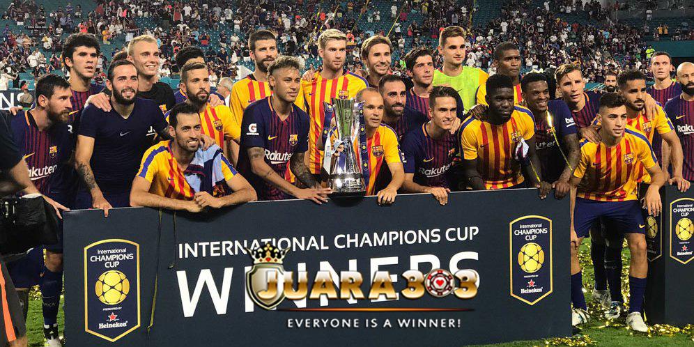 Barcelona Menangkan ICC 2017 Setelah Kalahkan Real Madrid