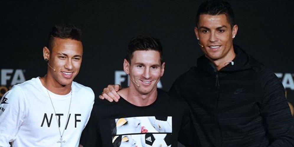 Ronaldo Sarankan Neymar Pindah ke MU
