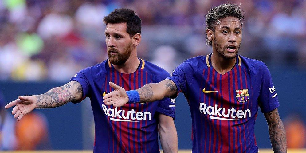 Messi Sampaikan Salam Perpisahan Kepada Neymar