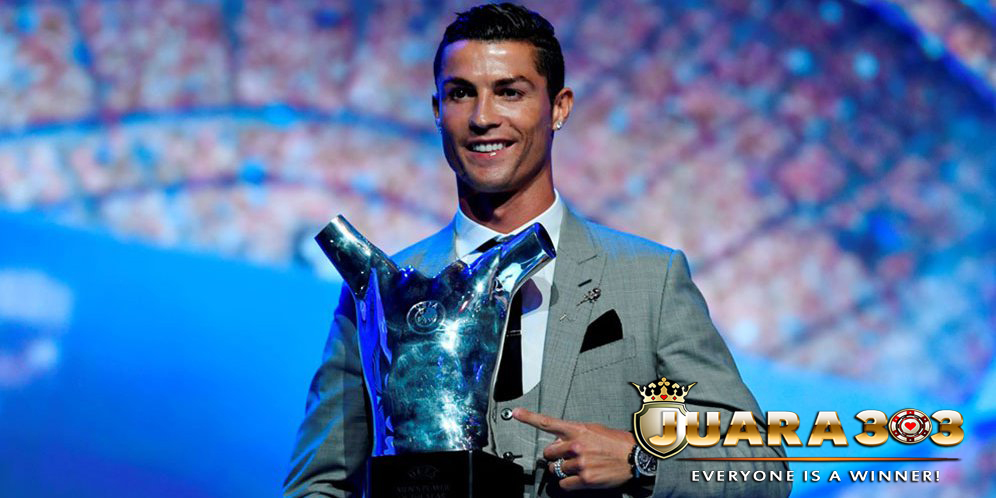 Cristiano Ronaldo Pemain Terbaik UEFA 2016/17