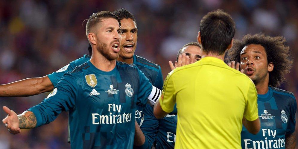 Ramos Catat Rekor Kartu Merah di La Liga