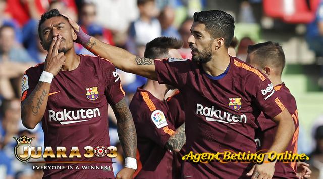 Kemenangan Barcelona, Paulinho powerfull