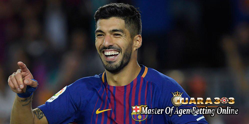 Suarez Tidak Menyangka Bisa Jebol Gawang Espanyol