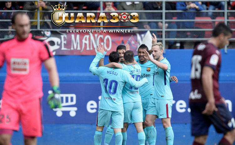 Lawan Eibar Jadi Pemanasan Barcelona Jelang Hadapi Chelsea