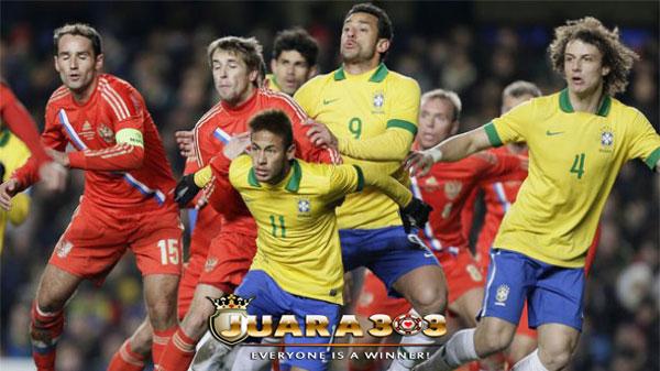 Brasil Sukses Mengalahkan Tuan Rumah Rusia