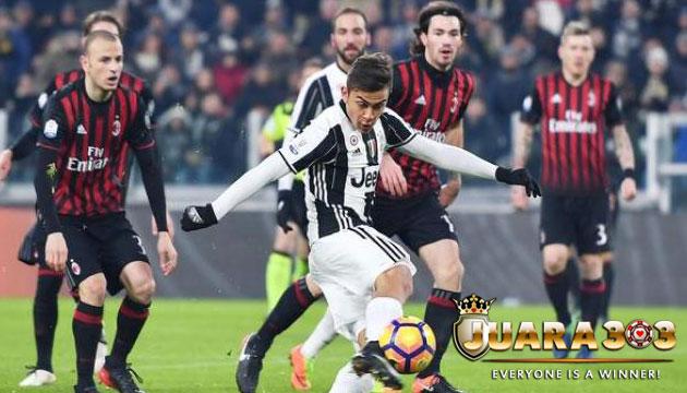 Juventus vs AC Milan - Agen Bola Terpercaya